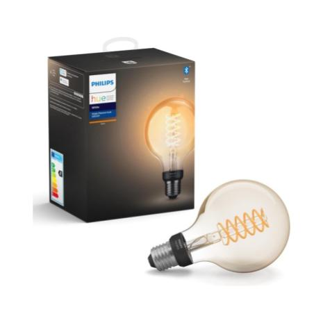 Philips Hue White E27 Globe filament