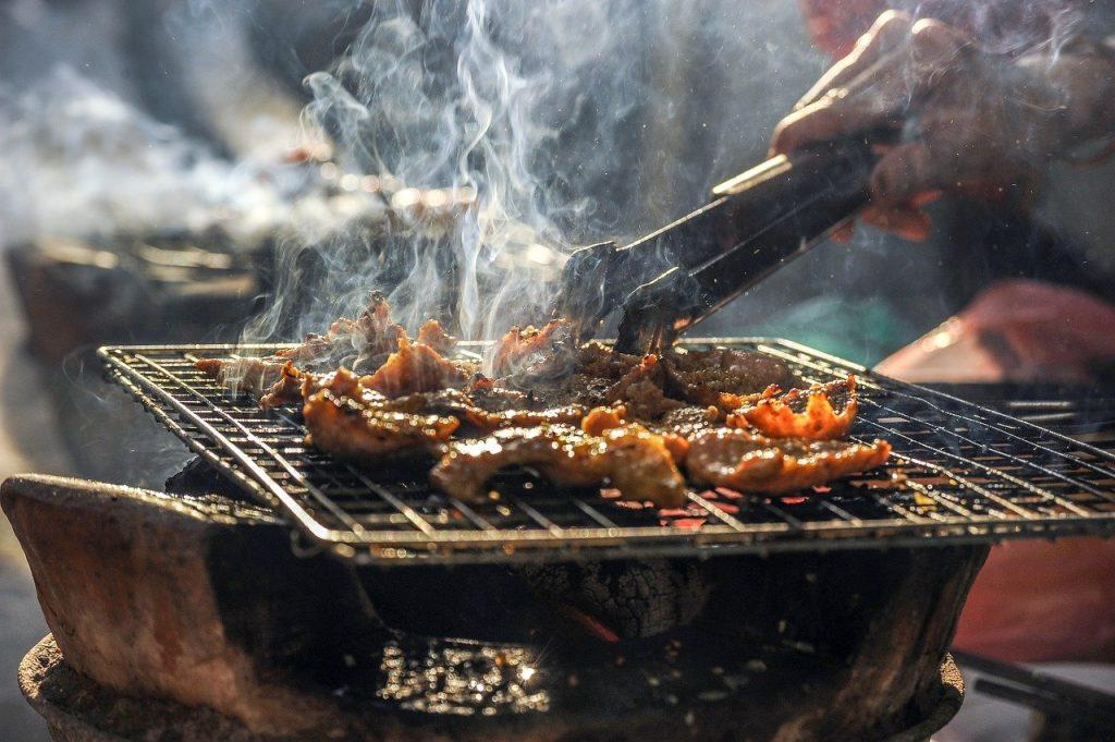 barbecue schoonmaakrobot